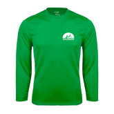 Performance Kelly Green Longsleeve Shirt-