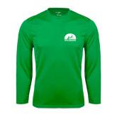 Syntrel Performance Kelly Green Longsleeve Shirt-