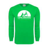 Kelly Green Long Sleeve T Shirt-