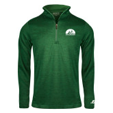 Russell Dark Green Heather 1/4 Zip-