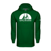 Under Armour Dark Green Performance Sweats Team Hoodie-