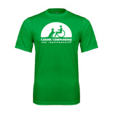 Performance Kelly Green Tee-