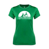 Ladies Syntrel Performance Kelly Green Tee-