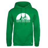 Russell DriPower Kelly Green Fleece Hoodie-