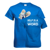 Royal Blue T Shirt-Two Puppies