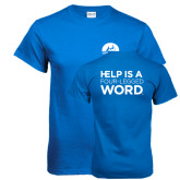 Royal Blue T Shirt-