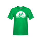 Youth Kelly Green T Shirt-