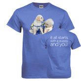 Arctic Blue T Shirt-Two Puppies