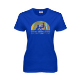 Ladies Royal T Shirt-Foil