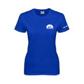 Ladies Royal T Shirt-Volunteer