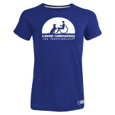 Ladies Russell Royal Essential T Shirt-