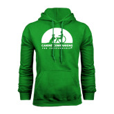 Kelly Green Fleece Hood-