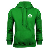 Kelly Green Fleece Hood-Kinkeade Campus