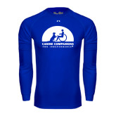 Under Armour Royal Long Sleeve Tech Tee-