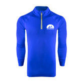 Under Armour Royal Tech 1/4 Zip Performance Shirt-