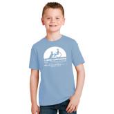 Youth Light Blue T Shirt-Kinkeade Campus