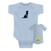 Light Blue Infant Onesie-Dog