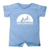 Light Blue Infant Romper-
