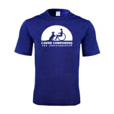 Performance Royal Heather Contender Tee-