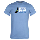 Light Blue T Shirt-DOGFEST stacked