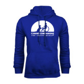 Royal Fleece Hoodie-