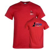 Red T Shirt-Canine Companions Strong