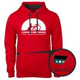 Contemporary Sofspun Red Hoodie-