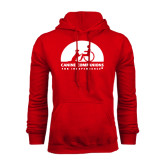 Red Fleece Hood-
