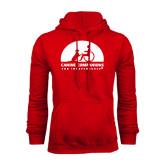 Red Fleece Hoodie-