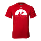 Under Armour Red Tech Tee-