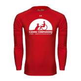 Under Armour Red Long Sleeve Tech Tee-