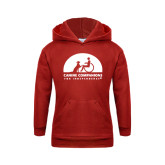 Youth Red Fleece Hoodie-