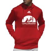 Adidas Red Team Issue Hoodie-