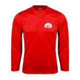 Performance Red Longsleeve Shirt-