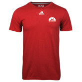 Adidas Climalite Red Ultimate Performance Tee-
