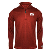 Russell Red Heather 1/4 Zip-
