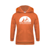 Youth Orange Fleece Hoodie-