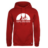 Russell DriPower Red Fleece Hoodie-