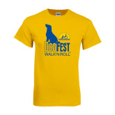 Gold T Shirt-Dog Fest Tall