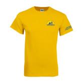 Gold T Shirt-Volunteer Puppy Raiser