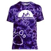 Purple Tie Dye Tee-
