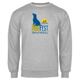 Grey Fleece Crew-Dog Fest Tall