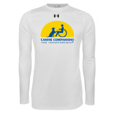 Under Armour White Long Sleeve Tech Tee-