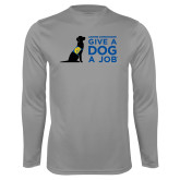 Syntrel Performance Steel Longsleeve Shirt-Give a Dog a Job