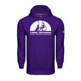 Under Armour Purple Performance Sweats Team Hoodie-