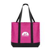 Tropical Pink/Dark Charcoal Day Tote-