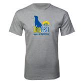 Grey T Shirt-Dog Fest Tall