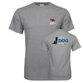 Grey T Shirt-Canine Companions Strong
