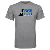 Grey T Shirt-DOGFEST stacked