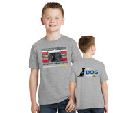 Youth Grey T Shirt-Canine Companions Strong